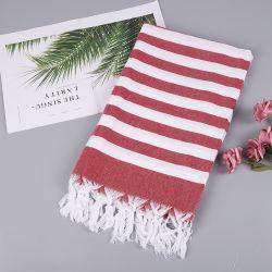 中国の製造者からの贅沢によって刺繍されるホテルのコレクション手の浴室の100%年の綿タオル