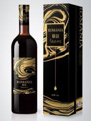 Impression des couleurs personnalisées et gris Carte à puce/Conseil/feuille de carton ondulé d'estampage de vin rouge de luxe/Carton de papier d'emballage alimentaire boîte cadeau