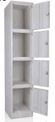Половина сдвижной корейского модульный 4 шкаф для хранения Shelve стеклянные двери металлические регистрации (FEC DM-1-4)