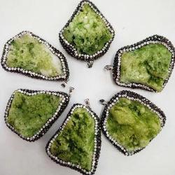 自然な瑪瑙のDruzyの石の半宝石の卸売