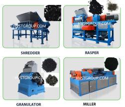Alta calidad de todo el sistema de reciclado de neumáticos de caucho Wire-Free pajote