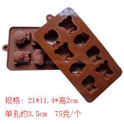 Outils de décoration Non-Stick cake en silicone résistant à la chaleur de moules pour la cuisine d'accueil