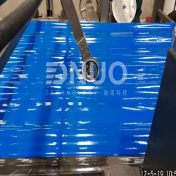 FRP GRP армированное полиэстер геля нанесите на рифленой пластины листа крыши машины