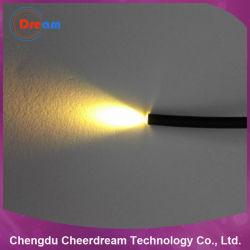 PMMA 25 Kern 0.75mm Lichte Kabel van het Eind van de Vezel de Optische