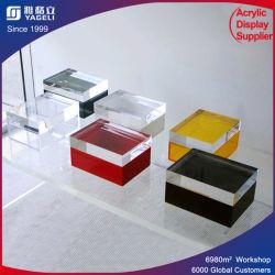 Personalizado de lujo en caja de acrílico con tapa