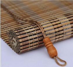Cortinas para la ventana de persianas de bambú y sombras