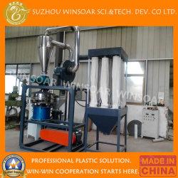PP PE Plastique PVC mouture de la poudre de tuyau de disque pulvérisation Machine pulvérisateur