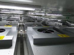 FFU 라보타리 클린 부스를 사용한 ISO4-8 클린룸 프로젝트