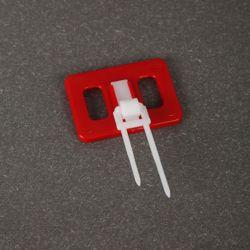 プラスチック印の表示ペーパー昇進のカードのラベルさし