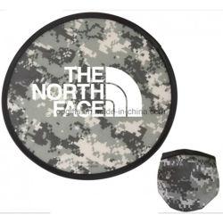 Frisbee pliable du logo 2017 estampé par coutume en gros promotionnelle