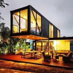 호화스러운 질 40FT 살아있는 콘테이너 집, 디자인 사는 20FT 콘테이너 집, 판매를 위한 이동 사무실 콘테이너