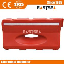 Barreira de Vermelho ou Amarelo de Plástico 130 Centímetros de Água Tráfego Cheio