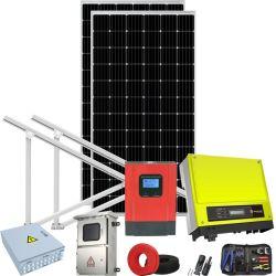 格子ホームPVのエネルギー・システムの太陽電池パネルシステム力の製品を離れた1kw 5kw 200kw
