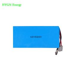 Pilha recarregável de venda quente 13s1p Bateria Li-ion 48V 60AH Bateria Recarregável para elevadores eléctricos de aluguer