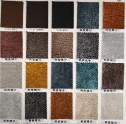 PVC Cuir artificiel de matériaux, imitation cuir velours.