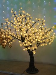 Yaye 18 Vender Ce/RoHS quente/2 Anos de garantia árvore LED LED/Luz de árvore de Salgueiro/LED Cherry Tree com IP65