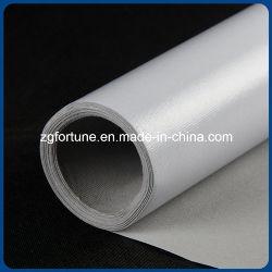 Eco-Lösungsmittel hoch glattes hellgraues rückseitiges Tintenstrahl-Malleinwand-Rollen-Polyester-Segeltuch