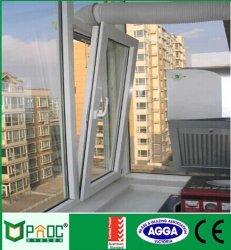 Girata di alluminio Windows di inclinazione di vetratura doppia di profilo