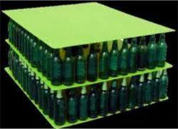 Bouteille de bière dégradables écologique la plaque de support en plastique
