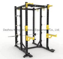 Высококачественное оборудование для фитнеса лучшая цена приседания на одной машине для монтажа в стойку
