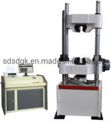 Waw-1000c (1000kN)の計算機制御の電気流体式のサーボユニバーサルテストの器械か装置または機械