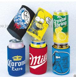 Impresión de OEM de promoción de neopreno de coque de la cerveza puede cubrir el manguito