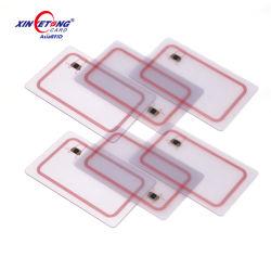 Scheda libera di stampa NFC del PVC dello Smart Card trasparente RFID