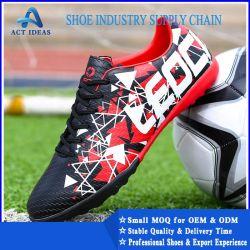 Il calcio poco costoso professionale su ordinazione di sport caric il sistemaare i pattini di gioco del calcio per gli uomini