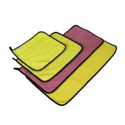 Absorbente rápido en seco Limpieza tejida para lavar coches alquiler de paño de microfibra (80% Poliéster 20% poliamida)