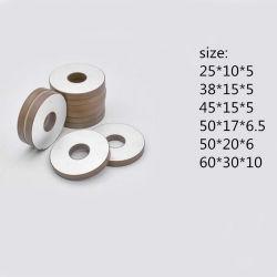 Pzt Fbpzt50206 anel de cerâmica piezoeléctrica para soldadura por ultra-sons de 50*17*6.5 Pzt