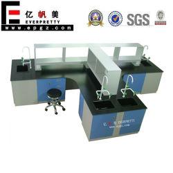 Banco de trabajo de laboratorio, Laboratorio de Ciencias Escuela de escritorios, mobiliario de laboratorio.