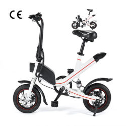 36V 350W 6.6ah bicicletas plegables eléctricas 12/ 14 pulgadas portátil de la bicicleta eléctrica bicicleta Mini Pocket Bike