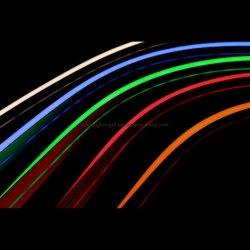 O neon RGB LED luzes de sinal Flex Iluminação Decorativa