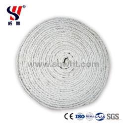 Fibra Cerâmica Cordas, Fibra Cerâmica cordas para tubo da fornalha, reforçada com fio Ss ou com fio de fibra de vidro