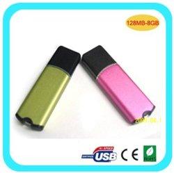O metal e plástico estilo tradicional da Unidade Flash USB