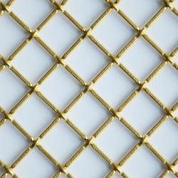 Rete metallica espansa decorativa ad alta qualità rivestita in rame