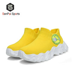 2022 Calzature per bambini alla moda Flyknit Calze a calza Kid