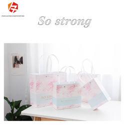 생일 선물로 예쁜 핑크 크라프트 선물 가방 미니 선물 가방 결혼식 크리스마스 휴일 졸업 베이비 샤워 선물 가방 쇼핑 가방