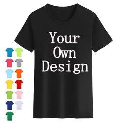 Maglietta in cotone uomo Unisex donna - Bambini con stampa personalizzata con logo Maglietta stampata