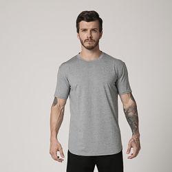 الرجال Quick Dry Slub Fitness بالجملة T Shirts
