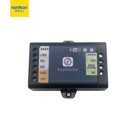 Smart Phone APP réseau WiFi Bluetooth automatique des portes à distance du système de contrôle d'accès avec lecteur de carte de sortie Wiegand pour bureau à domicile