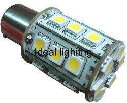 ضوء LED للإضاءة الأوتوماتيكية B15 Base 18LED، 10-30 فولت