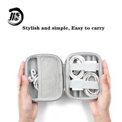 맞춤형 다기능 이어폰 보관함 EVA 휴대용 데이터 케이블 마감 지퍼 백 다양한 사양의 EVA 이어폰 케이스