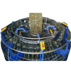 حقيبة بوتوتو عالية السرعة 4 مكوكي لينو ماش صناعة كيس Loom الدائري للماكينة