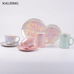 Керамической посуды из фарфора кружки с серию ударов глазури для продажи