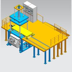 China Baixa Pressão Máquina de fundição de moldes Fabricante de Autopeças fundição de alumínio