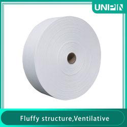 Non-tissé 100% polypropylène tissu Nonwowen Melt-Blown respirateur médical 25GSM Melt-Blown N99Matériau du filtre pour la fabrication de masque de tissu