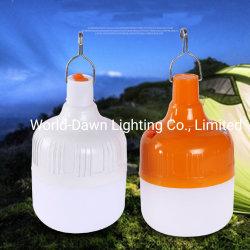 Großhandel Outdoor Nachtmarkt Camping Wandern Angeln Indoor Tragbare Wiederaufladbare Straßenbeleuchtung USB Notfall Solar LED Lampe