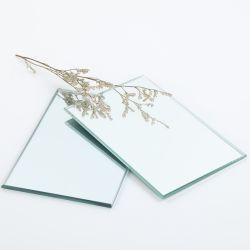 3mm, 4mm, 5mm, 6mm großer silberner kupferner freier Aluminiumspiegel mit Sicherheits-Rückseite