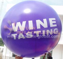 PVC grado comercial de publicidad grandes globos de helio inflables